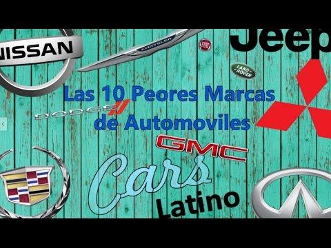 Las 10 Peores Marcas de Automóviles *CarsLatino*
