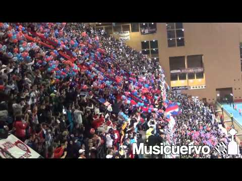 Video - San Lorenzo 0-2 Real Madrid Yo soy cuervo hasta que me muera.. Recibimiento - La Gloriosa Butteler - San Lorenzo - Argentina