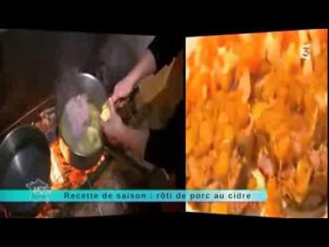 Recette de saison, émission du 3 décembre : Rôti de porc au cidre