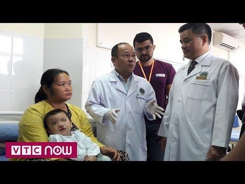 Hàng trăm trẻ hở môi vòm miệng được phẫu thuật miễn phí - Thời lượng: 2 phút, 4 giây.