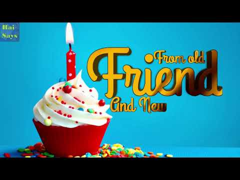 Birthday wishes for best friend - Best Birthday status Ever Beautiful Birthday Wishes for Friends - Rai Says Video