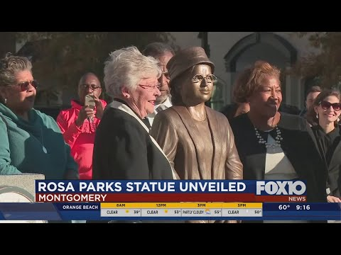 New Rosa Parks statue in Montgomery