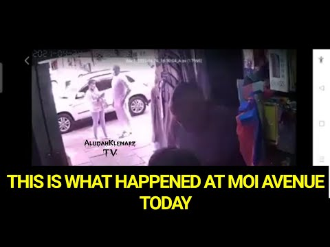 THIS IS WHAT HAPPENED TODAY ALONG MOI AVENUE || ACTOR AINEA OJIAMBO ACC… видео