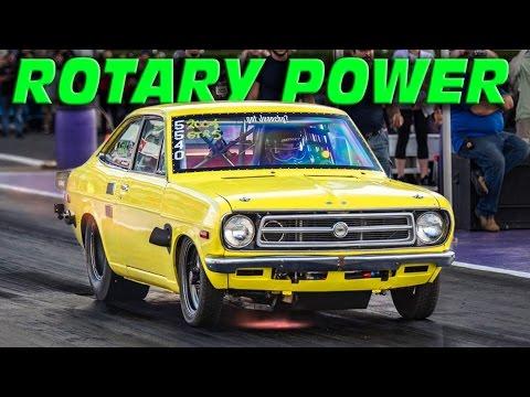 GIANT Turbo Rotary Powered Datsun @ TX2K15!