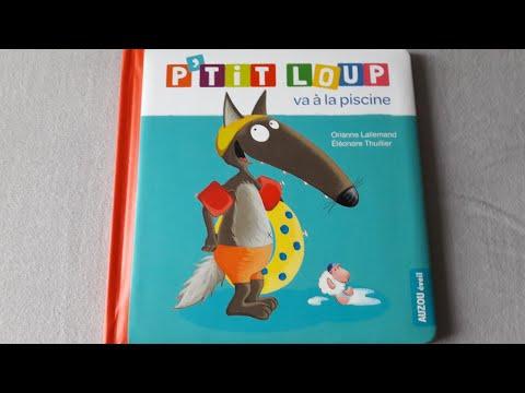 Histoire pour les enfants : P'tit Loup va à la piscine