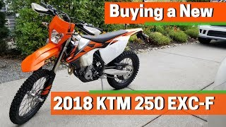 7. 2018 KTM 250 EXC-F - Walkaround & Mods