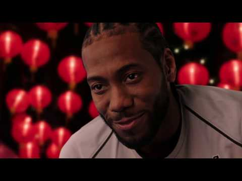 CELEBRATING CHINESE NEW YEAR WITH KAWHI LEONARD