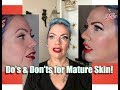 Download Lagu DO's & Don'ts of Pinup Makeup for Mature Skin! by CHERRY DOLLFACE Mp3 Free