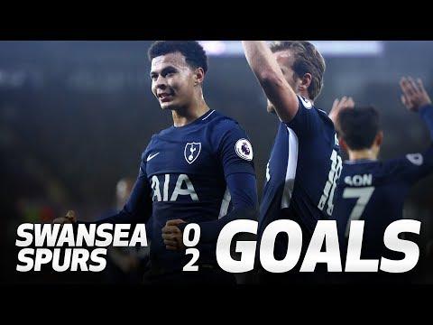 Video: FERNANDO LLORENTE AND DELE ALLI GOALS | Swansea 0-2 Spurs