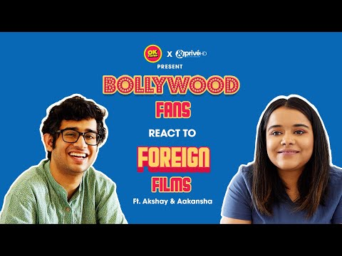 Bollywood Fans React To Foreign Films ft. Akshay & Aakansha | Ok Tested