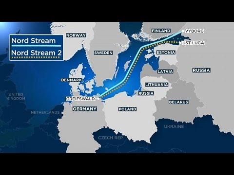 Aντιδράσεις στις κυρώσεις Τραμπ για τον Nord Stream 2
