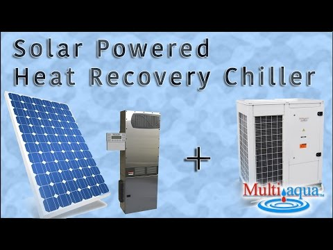 Solar Powered Heat Recovery Chiller