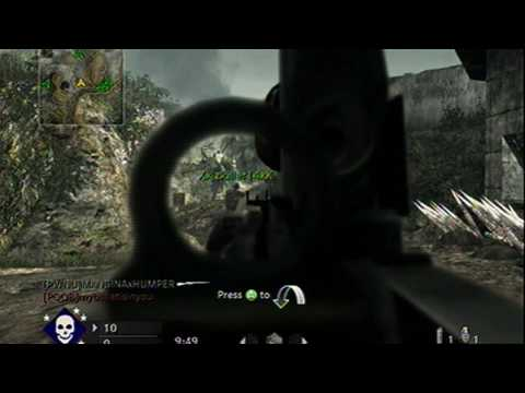 Type 99 (32-4) Team Deathmatch Cliffside Call of Duty 5 World at War. Type-99 Machine Gun