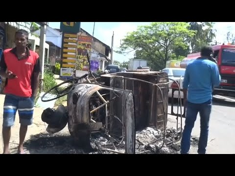 Sri Lanka ruft nach Unruhen Notstand aus