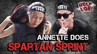Video HELP LAH! Ep 4: Annette does THE SPARTAN SPRINT!!! MP3, 3GP, MP4, WEBM, AVI, FLV Maret 2019
