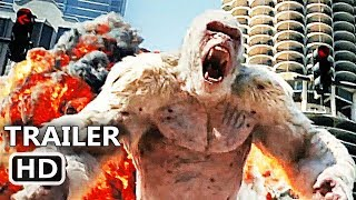 Video RАMPAGE Official Trailer (2018) Dwayne Johnson, Giant Ape Action Movie HD MP3, 3GP, MP4, WEBM, AVI, FLV Desember 2017