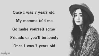 7 Years - Lukas Graham (Cover by Jasmine Thompson)(Lyrics)