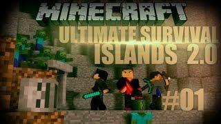 Minecraft: Ultimate Survival Islands 2.0 - Episode 1 - Here We Go Again!