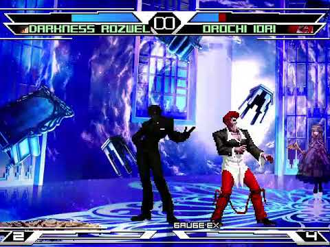 [KOF GOD] Darkness Rozwell Vs Iori CT