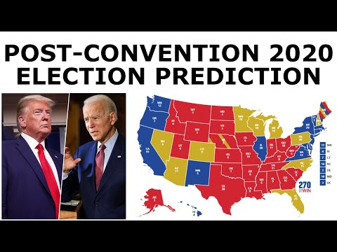 Updated 2020 Election Prediction (September 1, 2020)