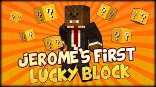 ASFJerome First Lucky Block (Minecraft Mods - Lucky Block Mod w/ BajanCanadian, Simon and JeromeASF)