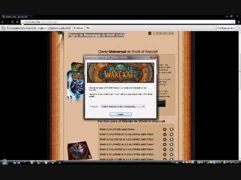 Como instalar el wow cataclysm + server