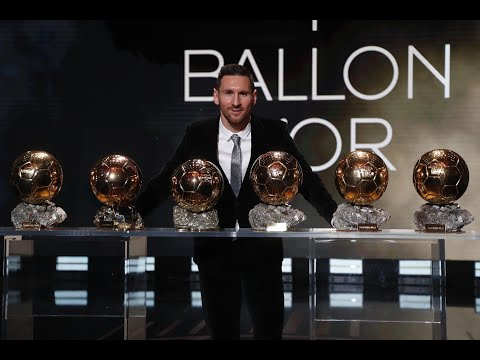 Leo Messi six-time Ballon d Or winner