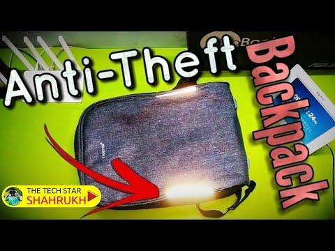 Best Tech Backpack - Tigernu Anti-Theft Laptop Bag Full Review   Hindi - हिंदी