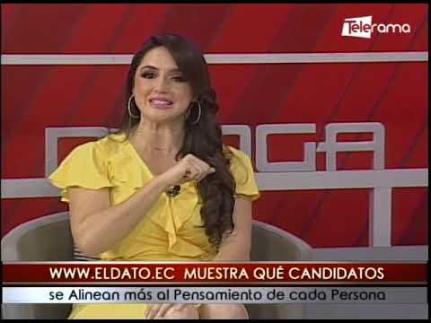 www.eldato.ec muestra qué candidatos se alinean más al pensamiento de cada persona