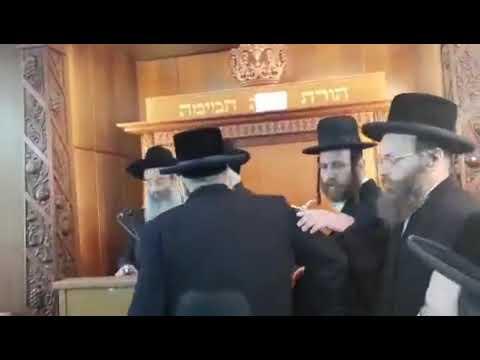 הרב אייזיק לנדא הוכרז לרב העיר בני ברק