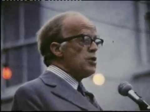 President Childers in Letterkenny 1973