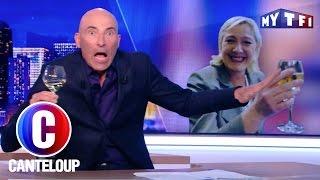 Video Ivre, Marine Le Pen avoue qu'elle n'a pas les papiers - C'est Canteloup du 22 mai 2017 MP3, 3GP, MP4, WEBM, AVI, FLV Mei 2017