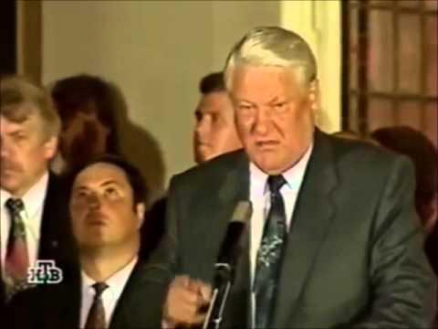 Ельцин: Ровно день в день ровно часы в часы... - DomaVideo.Ru