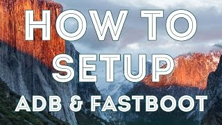 How To Setup/Install ADB And Fastboot On Mac Os ( One click Installation )Commands(MAC) --- https://goo.gl/wuUZPq Subscribe For More Interesting Videos --- http://goo.gl/2xya8aSupport Me To Make More Awesome Videos--- https://www.paypal.me/AbdulSufiyanMusic Is From NCS --- https://www.youtube.com/user/NoCopyrightSoundsMy Outro Template Is From --- http://goo.gl/d6RCli__________          (◑‿◐) ▌ šocial ▌ (◑‿◐)__________➨ My Websitehttp://www.technoprotocol.com➨ Facebook 凸(¬‿¬)凸https://www.facebook.com/technoprotocolhttps://www.facebook.com/theabusufiyangeek➨ Instagram https://Instagram.com/abusufiyangeekhttps://Instagram.com/technoprotocol➨ Twitter http://twitter.com/abusufiyangeekhttps://twitter.com/TechProtocolweb________________________________________