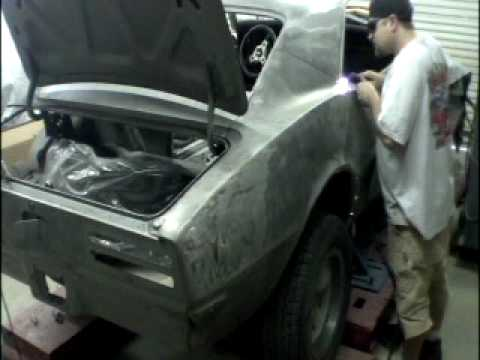 Removing Quarter Panel on a 1968 Pontiac Firebird MUSCLE CARS & HOT RODS Episode 109