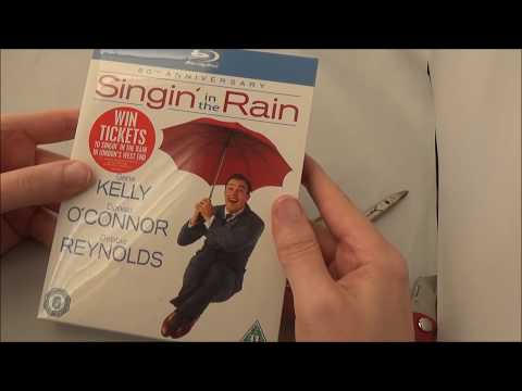 Singin' in the Rain 60th Anniversary Edition Unboxing