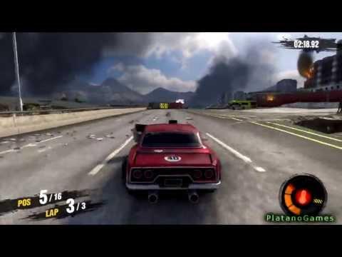 Motorstorm Apocalypse - Road Warriors - Muscle Car - Race 1 - The Last of Us Apocalyptic Series - HD