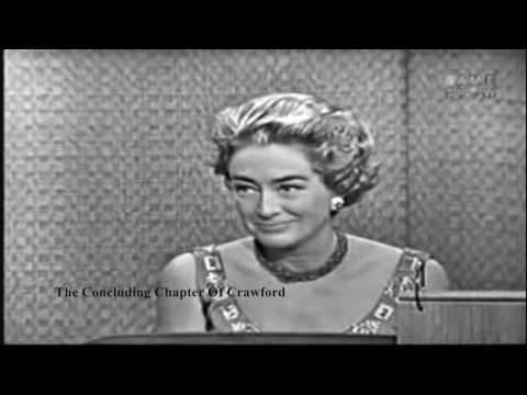 "Joan Crawford On ""What's My Line?"" 1962 