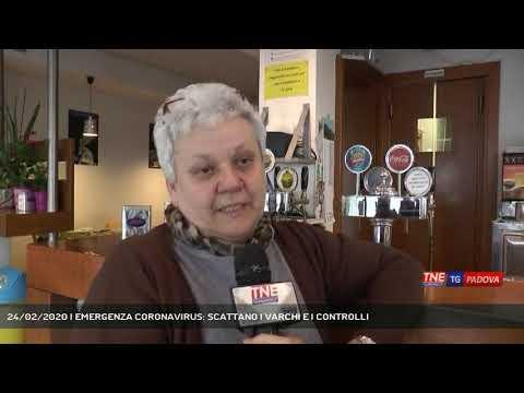 24/02/2020 | EMERGENZA CORONAVIRUS: SCATTANO I VARCHI E I CONTROLLI