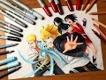 Download Lagu Speed Drawing - Naruto & Boruto Uzumaki X Sasuke & Sarada Uchiha [HD] Mp3 Free