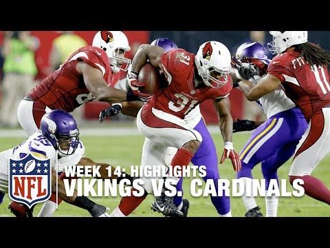 Vikings vs. Cardinals   Week 14 Highlights   NFL