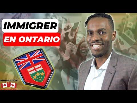 Immigrer dans la Province de l' Ontario