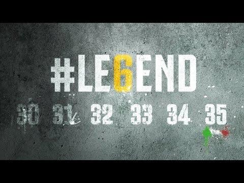 we are #le6end! juventus sei leggenda!