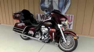 10. 2009 Harley-Davidson Ultra Classic Electra Glide FLHTCU for sale Tampa Brandon  Florida used