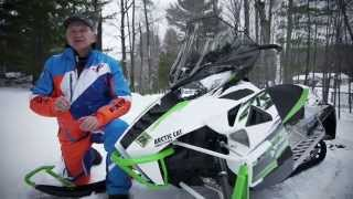 8. TEST RIDE: 2015 Arctic Cat ZR 9000