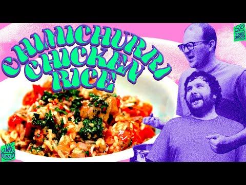 The Best Chimichurri Chicken Rice #Recipe • #FoodDoodz 4K