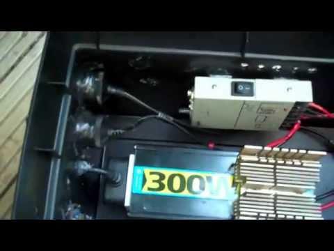 Solar powered portable battery box – generator PROTOTYPE