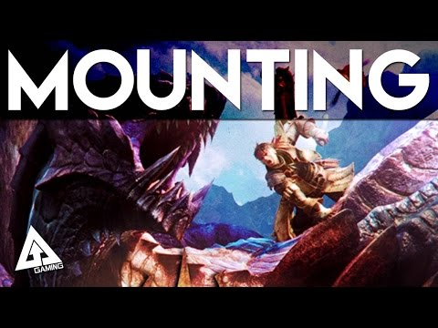 Monster Hunter 4 Ultimate Tutorial - Mounting Monsters (Riding Monsters) (видео)