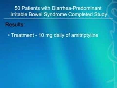 Evidence That Amitriptyline May Be Effective in Treating Dia