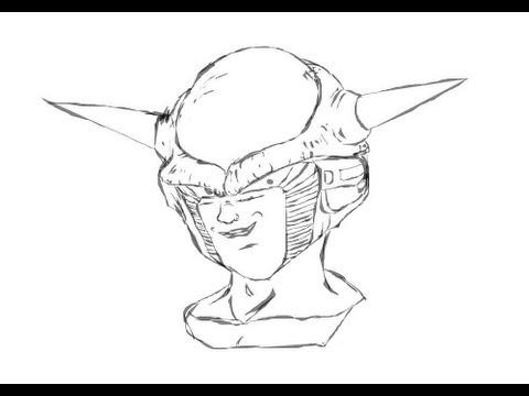 Como desenhar o Freeza de 'Dragon Ball Z'